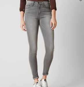 Flying monkey high rise grey skinny jeans
